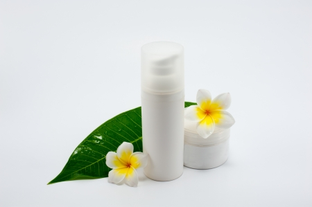 Close up of natural treatment essense products photo