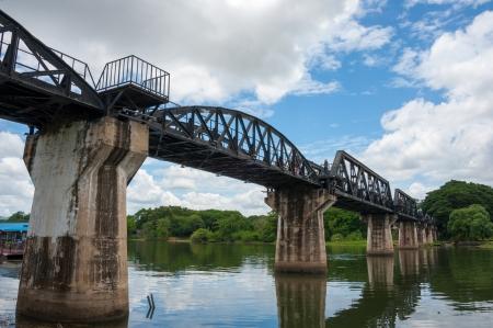 prisoner of war: The Death Railway bridge at Kanchanaburi, Thailand