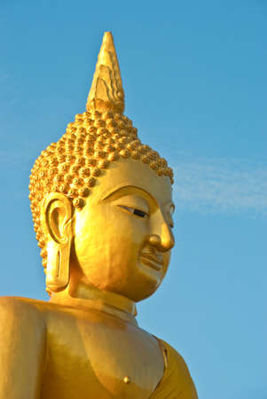 Face of the Buddha in Thailand