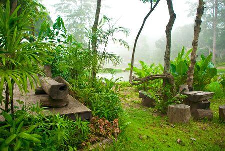 Gardening Thai, Mae Hong Son, Thailand