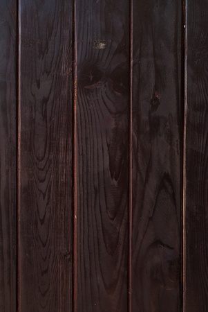 Fence made of wood. Flooring made from wood surfaces.