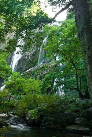 Khlong Lan Waterfall Kamphaeng Phet Province, Thailand