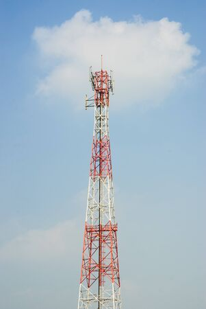 Antenna signal communication.