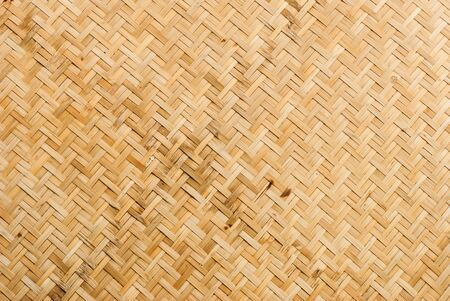 Bamboo weave pattern. Stock Photo
