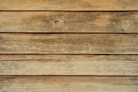 Old wooden house wall. Stock Photo