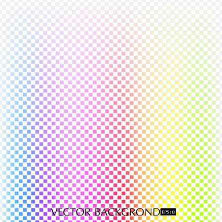 The background color of the rainbow. Illustration