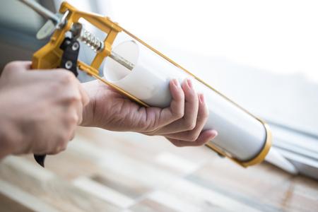 Gun mit Silikon