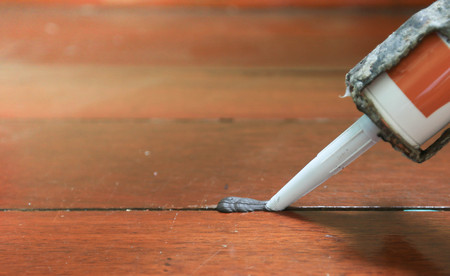 caulking gun Silicone adhesive