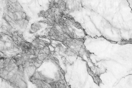 Marble patterned texture background. Marbles of Thailand, Black and white. photo