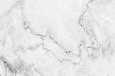 marble wall: White marble patterned texture background ,(black and white). Stock Photo