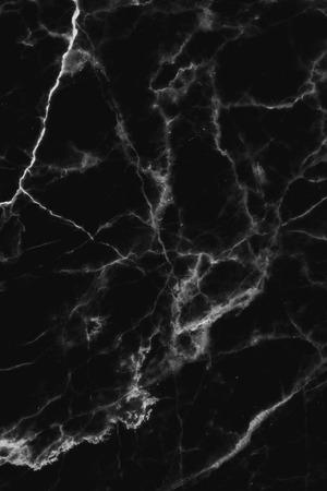 Schwarzem Marmor gemustert (natürlichen Muster) Textur Hintergrund, Marmor Textur Hintergrund für Design. Standard-Bild - 37556414