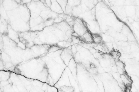 Marble patterned texture background. Marbles of Thailand, abstract natural marble black and white (gray) for design. Stock Photo