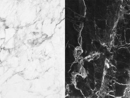 Marbre blanc à motifs texture de fond. Marbres de la Thaïlande abstraite marbre naturel gris noir et blanc pour la conception. Banque d'images - 40643450