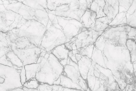 Wit marmeren patroon textuur achtergrond. Knikkers van Thailand abstracte natuurlijke marmer zwart-wit grijs voor design. Stockfoto
