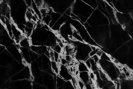 Zwart marmer patroon natuurlijke patronen textuur achtergrond abstracte marmeren textuur achtergrond voor het ontwerp. Stockfoto