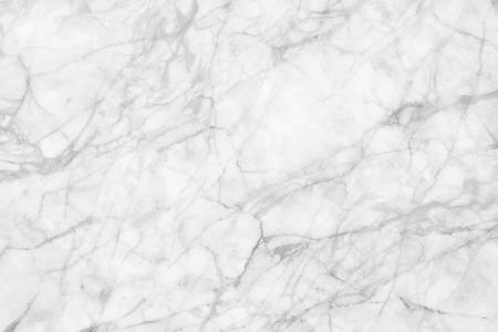 textuur: Wit marmeren patroon textuur achtergrond. Knikkers van Thailand abstracte natuurlijke marmer zwart-wit grijs voor design. Stockfoto