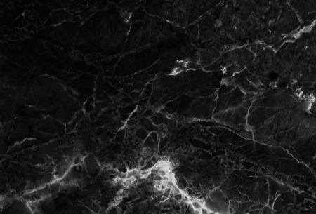 Marbre noir modèles naturels motifs de fond texture de marbre abstrait texture de fond pour la conception. Banque d'images - 41636046