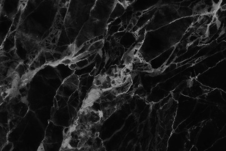 Black marble texture, detailed structure of marble in natural patterned  for background and design. Archivio Fotografico