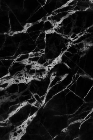 Nero modelli naturali di trama marmo, struttura dettagliata del marmo alta risoluzione, astratto di marmo texture per il design. Archivio Fotografico - 44476362