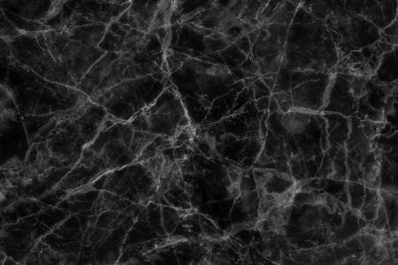 Astratta nero trama di marmo in fantasia naturale, struttura dettagliata di marmo alta risoluzione. Archivio Fotografico - 44636011