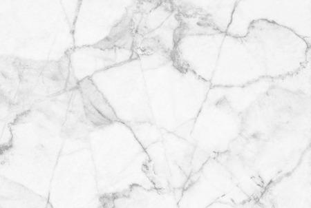 Weiß grauem Marmor gemusterten natürlichen Muster Textur Hintergrund. Standard-Bild - 48982076