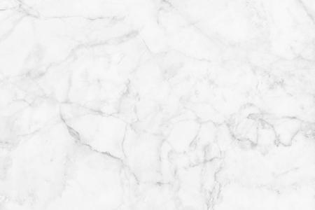 Witte marmeren textuur, gedetailleerde structuur van marmer in natuurlijk gevormd voor achtergrond en ontwerp. Stockfoto