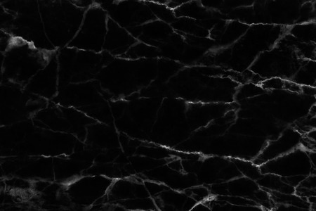 Black marble patterned texture background  for design.
