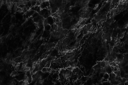 Black marble patterned texture background for design
