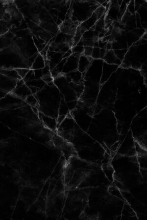 Black marble patterned texture background for design. 스톡 콘텐츠