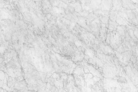 White marble patterned texture background. Banco de Imagens