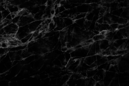 Black marble patterned texture background.