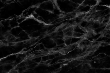 Black marble patterned texture background for design. Archivio Fotografico