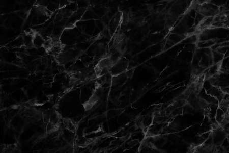 Black marble patterned texture background for design.