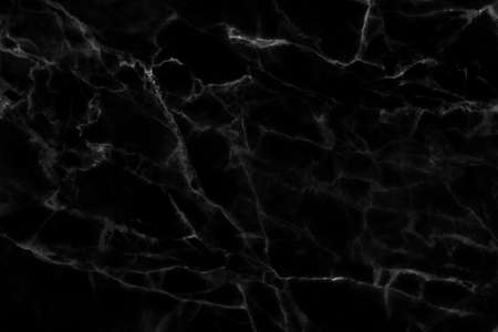 Black marble high resolution, abstract texture background in natural patterned for design.