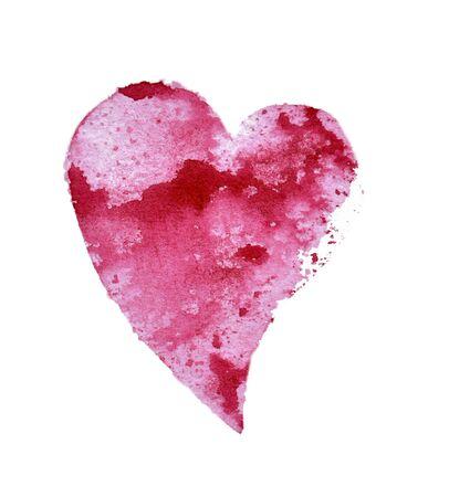 Flying pink heart with cloud texture. Foto de archivo - 133754185