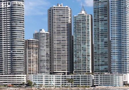 panama city: Modern skyscrapers in Panama City