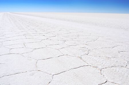 Salar de Uyuni, Bolivia travel, the largest salt flat in the  South America Banque d'images