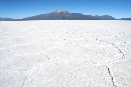 Salar de Uyuni, Bolivia travel, the largest salt flat in   South America Banque d'images