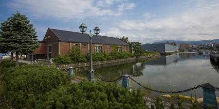 小樽市の赤レンガ倉庫