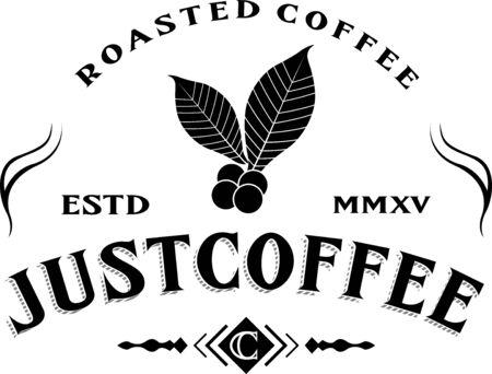 steam of a leaf: Just coffee. Roasted coffee.