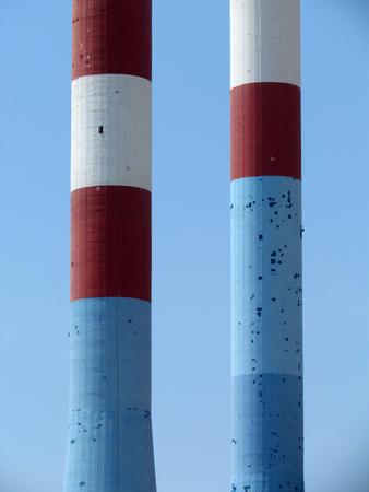 factory: Factory chimneys