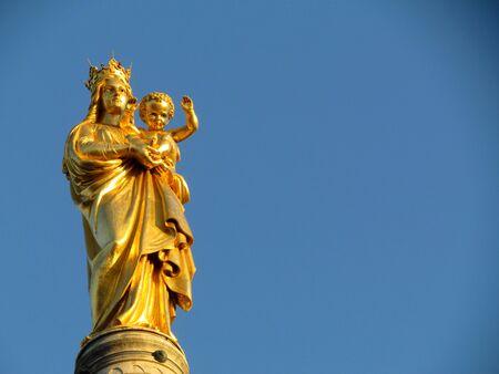 garde: Statue Notre Dame de la Garde