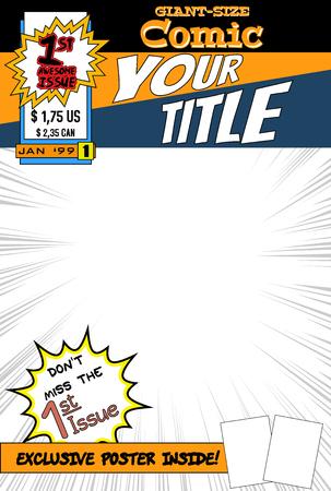 historietas: cubierta de cómic.