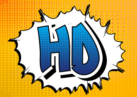 book background: HD - Comic book style word on comic book abstract background. Illustration