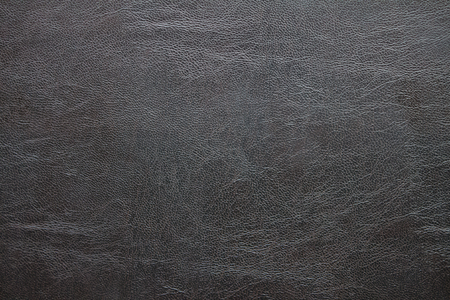Black leather texture surface for background. Stock Photo
