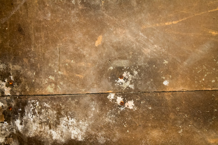 Detail of dirty brown empty wooden texture for background. Stock Photo