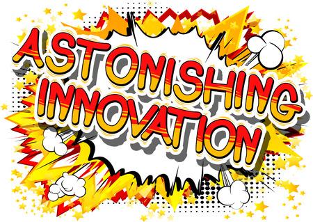 Astonishing innovation a comic book design.