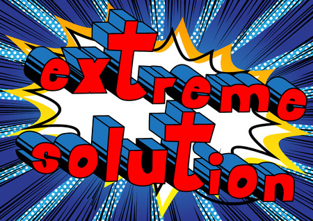 Extreme Solution - word art.