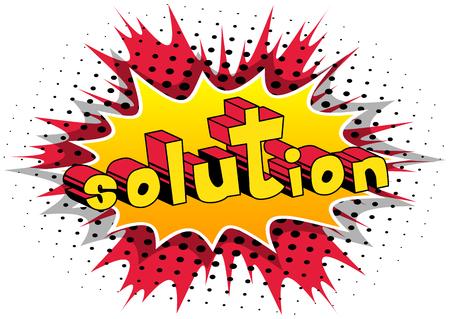 Solution - word art.