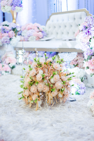 Traditional wedding gift in malay wedding for the guest who attending the ceremony as thank you gesture. Stock Photo